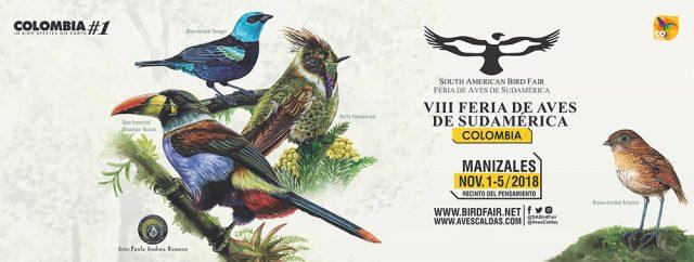 Del 1 al 5 de noviembre tiene lugar la Feria de Aves de Sudamérica